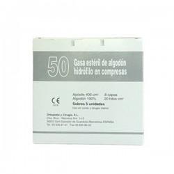 COMPRESAS GASA ESTERIL GRAN CRUZ C/50 UN