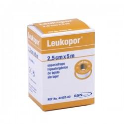 ESPARADRAPO PAPEL LEUKOPOR 5X2,5CM.