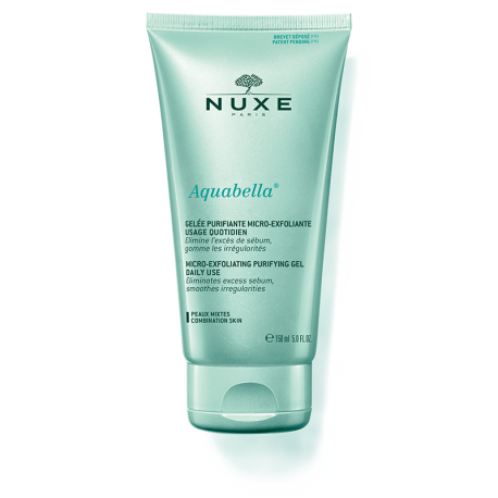 NUXE AQUABELLA GEL PURIFICANTE MICRO-EXFOLIANTE 150ML