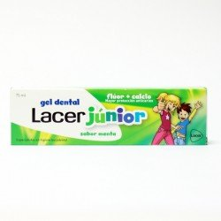 LACER GEL DENTAL JUNIOR MENTA 75 ML.