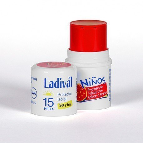 LADIVAL PROTECTOR LABIAL NIÑOS FPS 15 MEDIA STICK 4 ML