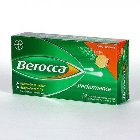 BEROCCA PERFORMANCE 30 COMP EFER NARANJA
