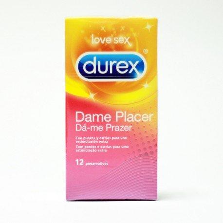 PRESERVATIVO DUREX PLEASUREMAX 12 UND