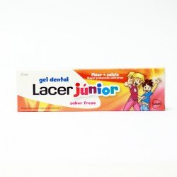 LACER GEL DENTAL JUNIOR FRESA 75 ML.