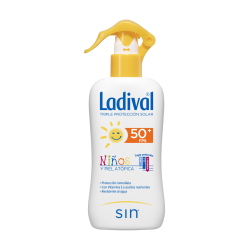 LADIVAL NIÑOS Y PIELES ATOPICAS SPRAY FPS50+ 200 ML