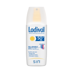 LADIVAL PIEL SENSIBLE SPRAY FPS 50+ 150 ML