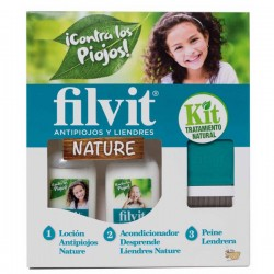 FILVIT KIT NATURE LOCION 125M+ACOND 125M