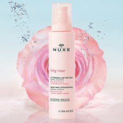 NUXE VERY ROSE LECHE DESMAQUILLANTE CREMOSA TTP 200 ML