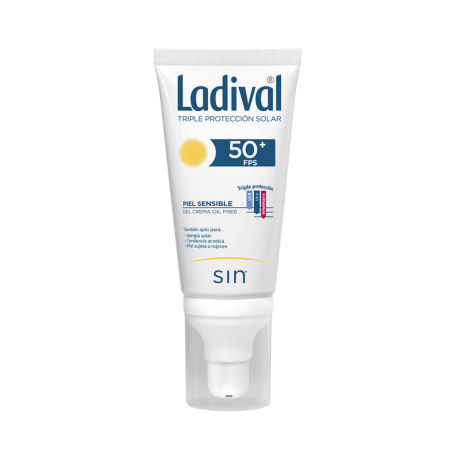 LADIVAL P/SENSIBLE FPS50+ GEL FACIAL 75M