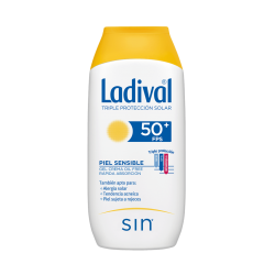 LADIVAL PIEL SENSIBLE FPS 50+ 200 ML