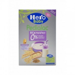PEDIALAC PAPILLA 8 CEREALES HERO BABY 340 G