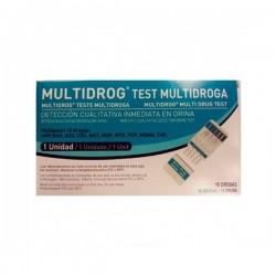 MULTIDROG 1 DETERMINACION 10 DROGAS