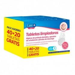 CARE+ TABLETAS LIMPIADORAS 40+20