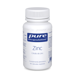 PURE ENCAPSULATIONS ZINC 60 CAPSULAS