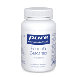 PURE ENCAPSULATIONS FORMULA DESCANSO 60 CAPSULAS