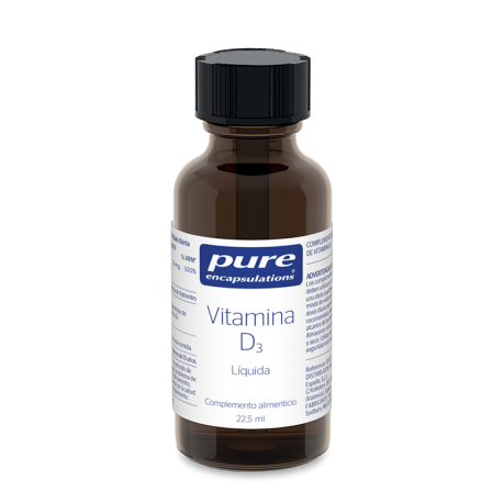 PURE ENCAPSULATIONS VITAMINA D3 1 ENVASE 22.5 ML
