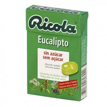 RICOLA CARAMELOS SIN AZUCAR 1 ENVASE 50 G SABOR EUCALIPTUS