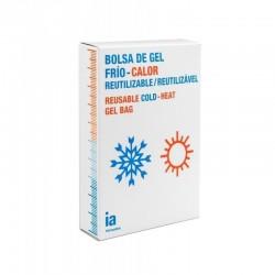 INTERAPOTHEK BOLSA DE GEL REUTILIZABLE FRIO Y CALOR 13 X 27 CM